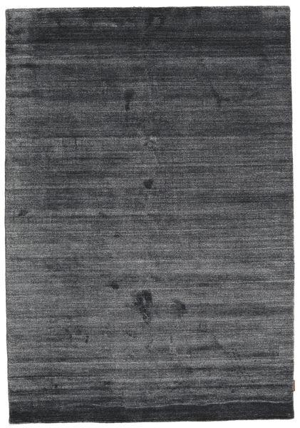 Bamboo Silkki Loom - Charcoal Matto 160X230 Moderni Violetti/Musta/Tummanharmaa ( Intia)