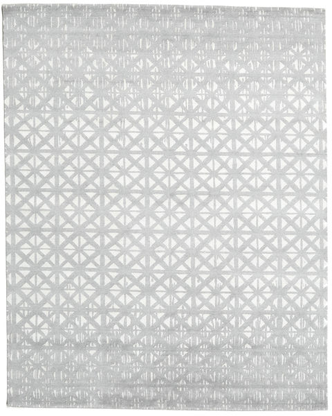 Himalaya Matto 244X306 Moderni Käsinsolmittu Valkoinen/Creme/Vaaleanharmaa (Villa/Bambu Silkki, Intia)