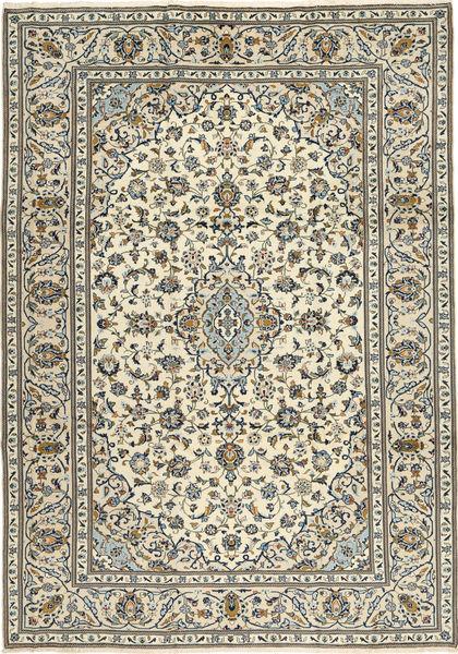 Keshan Matto 243X345 Itämainen Käsinsolmittu Beige/Tummanharmaa/Vaaleanharmaa (Villa, Persia/Iran)