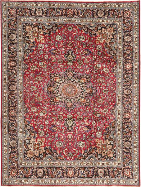 Mashad Matto 250X338 Itämainen Käsinsolmittu Tummanpunainen/Tummanruskea Isot (Villa, Persia/Iran)