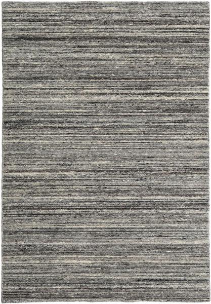 Mazic - Tummanharmaa Matto 120X180 Moderni Tummanharmaa/Vaaleanharmaa (Villa, Intia)