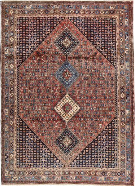 Yalameh Matto 252X349 Itämainen Käsinsolmittu Tummanruskea/Tummanpunainen Isot (Villa, Persia/Iran)