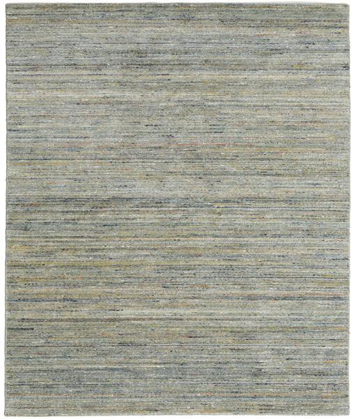Mazic - Green_Grey Matto 190X240 Moderni Käsinsolmittu Vaaleanharmaa/Tummanharmaa (Villa, Intia)
