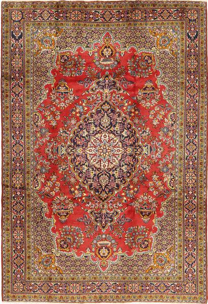 Golpayegan Matto 218X318 Itämainen Käsinsolmittu Tummanruskea/Vaaleanruskea (Villa, Persia/Iran)