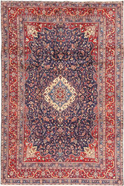 Hamadan Shahrbaf Matto 205X316 Itämainen Käsinsolmittu Tummanharmaa/Ruoste (Villa, Persia/Iran)