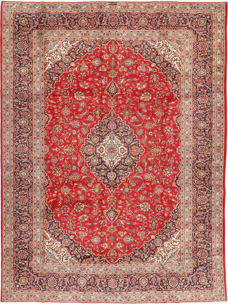 Keshan Signature : Kashan Ghotbi Matto 298X400 Itämainen Käsinsolmittu Vaaleanruskea/Ruoste Isot (Villa, Persia/Iran)