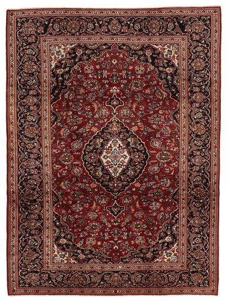 Keshan Matto 224X315 Itämainen Käsinsolmittu Ruoste/Tummanruskea (Villa, Persia/Iran)