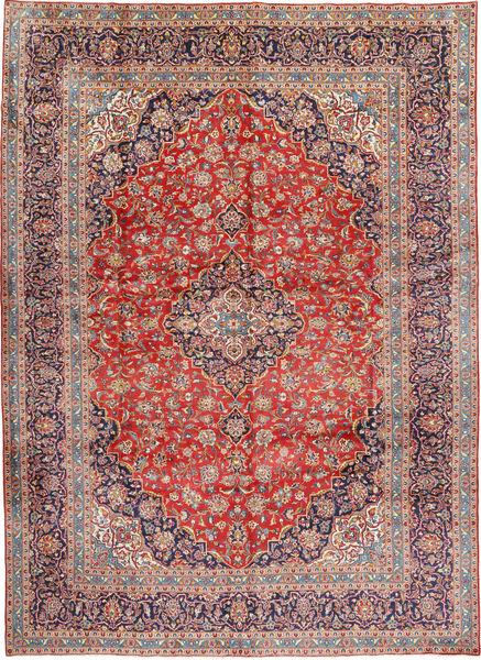 Keshan Matto 293X405 Itämainen Käsinsolmittu Tummanpunainen/Vaaleanharmaa Isot (Villa, Persia/Iran)