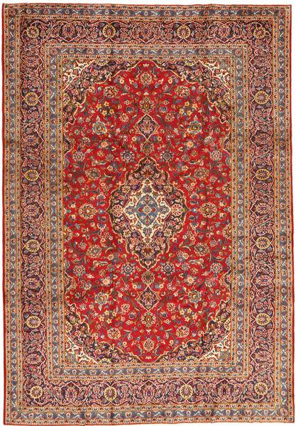 Keshan Matto 243X355 Itämainen Käsinsolmittu Ruoste/Tummanpunainen (Villa, Persia/Iran)