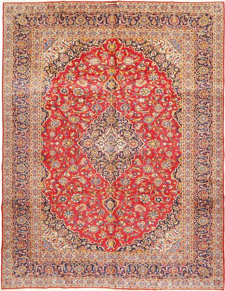 Keshan Signature : Kashan Ghotbi Matto 303X400 Itämainen Käsinsolmittu Ruoste/Tummanpunainen Isot (Villa, Persia/Iran)