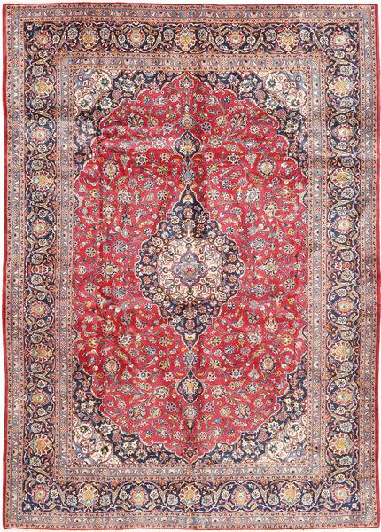 Keshan Matto 300X433 Itämainen Käsinsolmittu Ruoste/Vaaleanpunainen Isot (Villa, Persia/Iran)
