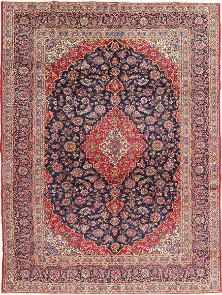 Keshan Signature : Kashan Ghotbi Matto 295X395 Itämainen Käsinsolmittu Ruoste/Tummanvioletti Isot (Villa, Persia/Iran)