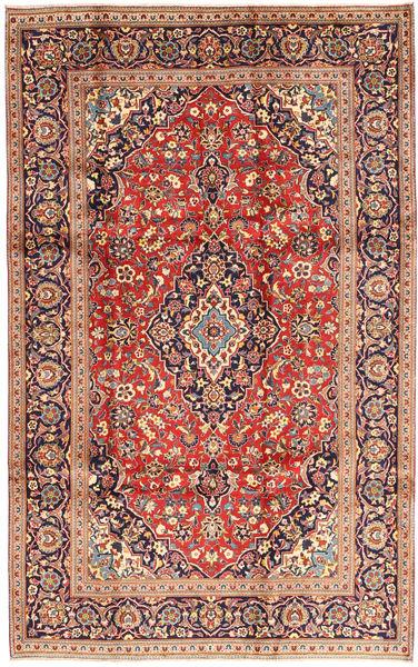 Keshan Matto 195X310 Itämainen Käsinsolmittu Tummanpunainen/Beige (Villa, Persia/Iran)
