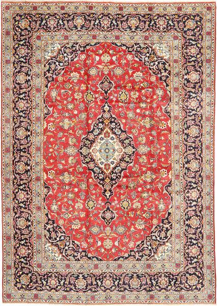 Keshan Matto 260X377 Itämainen Käsinsolmittu Ruoste/Beige Isot (Villa, Persia/Iran)