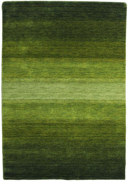 Gabbeh Rainbow - Vihreä Matto 140X200 Moderni Tummanvihreä/Oliivinvihreä (Villa, Intia)