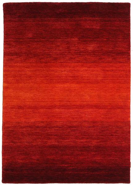 Gabbeh Rainbow - Punainen Matto 140X200 Moderni Ruoste/Tummanpunainen (Villa, Intia)