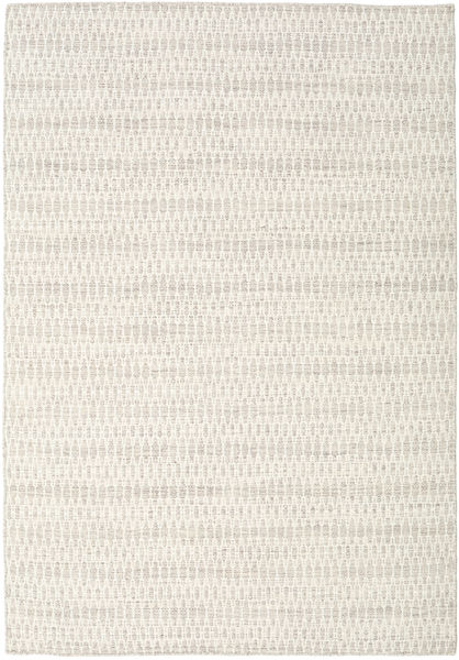 Kelim Long Stitch - Beige Matto 160X230 Moderni Käsinkudottu Vaaleanharmaa/Beige (Villa, Intia)