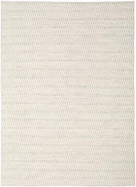 Kelim Long Stitch - Beige Matto 210X290 Moderni Käsinkudottu Vaaleanharmaa/Beige (Villa, Intia)