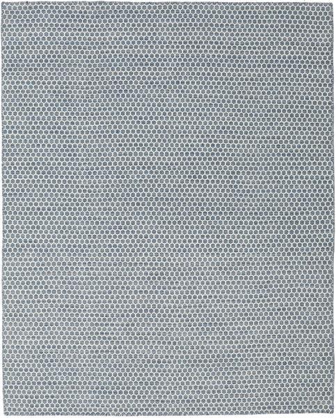 Kelim Honey Comb - Sininen Matto 0X0 Moderni Käsinkudottu Vaaleanharmaa/Sininen/Vaaleansininen (Villa, Intia)
