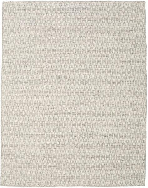 Kelim Long Stitch - Beige Matto 190X240 Moderni Käsinkudottu Vaaleanharmaa (Villa, Intia)