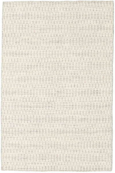 Kelim Long Stitch - Beige Matto 120X180 Moderni Käsinkudottu Beige/Tummanbeige (Villa, Intia)