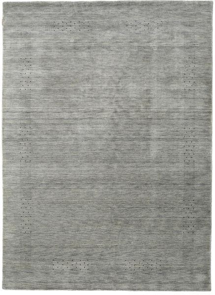Loribaf Loom Beta - Harmaa Matto 190X290 Moderni Tummanharmaa/Vaaleanharmaa (Villa, Intia)