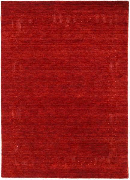 Loribaf Loom Beta - Punainen Matto 140X200 Moderni Ruoste/Tummanpunainen (Villa, Intia)