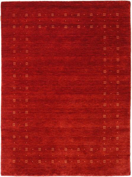 Loribaf Loom Delta - Punainen Matto 140X200 Moderni Ruoste/Tummanpunainen (Villa, Intia)