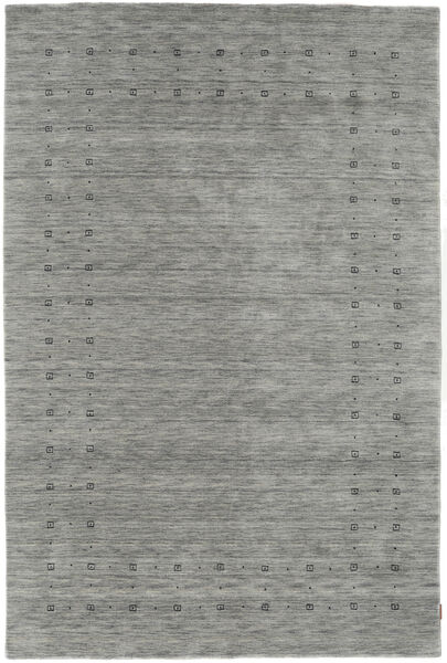 Loribaf Loom Delta - Harmaa Matto 190X290 Moderni Vaaleanharmaa/Tummanharmaa (Villa, Intia)
