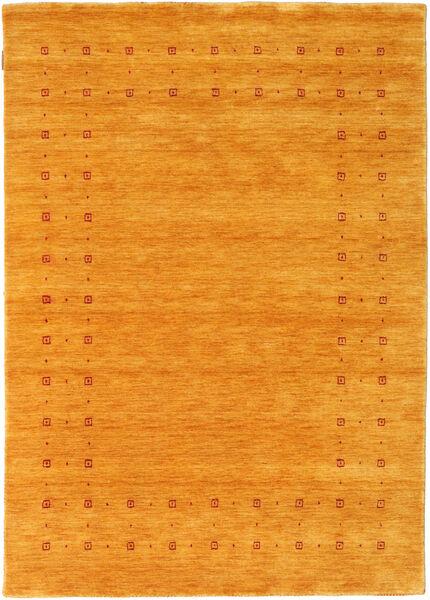 Loribaf Loom Delta - Kulta Matto 140X200 Moderni Keltainen/Vaaleanruskea (Villa, Intia)