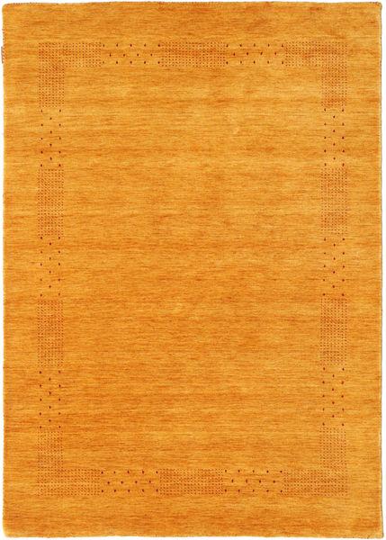 Loribaf Loom Beta - Kulta Matto 140X200 Moderni Keltainen/Vaaleanruskea (Villa, Intia)