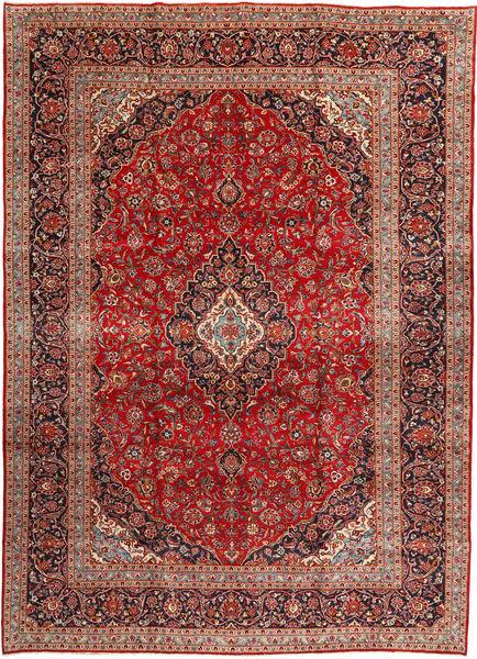 Keshan Matto 292X408 Itämainen Käsinsolmittu Tummanpunainen/Ruoste Isot (Villa, Persia/Iran)