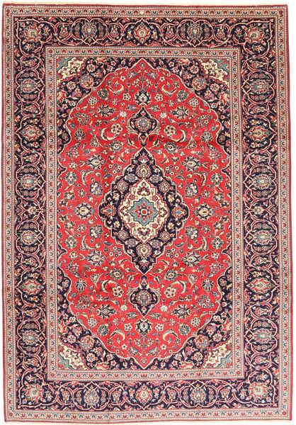Keshan Matto 238X340 Itämainen Käsinsolmittu Ruskea/Tummanvioletti (Villa, Persia/Iran)