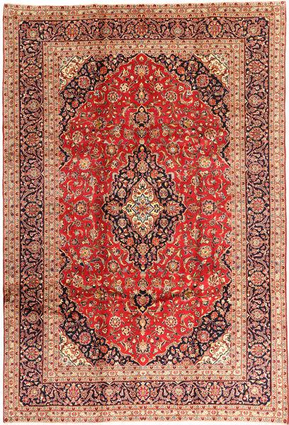Keshan Matto 240X355 Itämainen Käsinsolmittu Tummanpunainen/Ruoste (Villa, Persia/Iran)