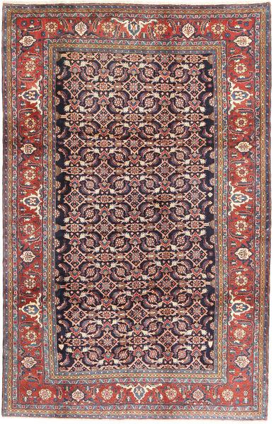 Hamadan Matto 207X325 Itämainen Käsinsolmittu Vaaleanharmaa/Tummanharmaa (Villa, Persia/Iran)