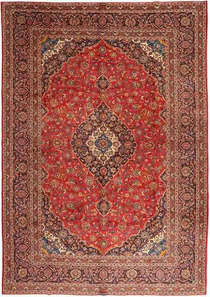 Keshan Matto 303X425 Itämainen Käsinsolmittu Tummanruskea/Ruoste Isot (Villa, Persia/Iran)