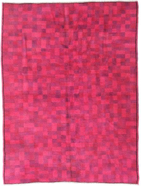 Colored Vintage Matto 150X203 Moderni Käsinsolmittu Pinkki (Villa, Turkki)