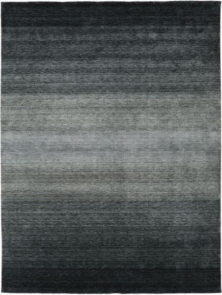 Gabbeh Rainbow - Harmaa Matto 300X400 Moderni Musta/Tummanharmaa/Vihreä Isot (Villa, Intia)