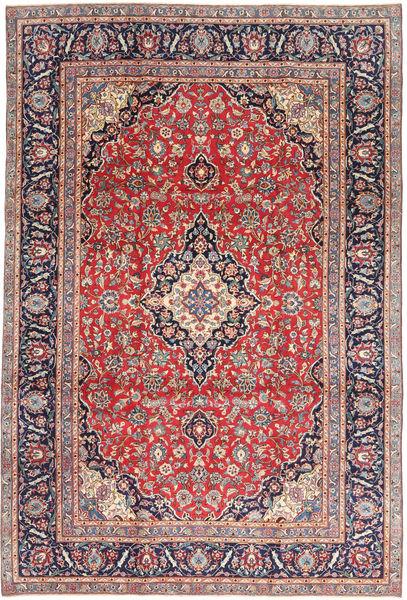 Keshan Patina Matto 240X355 Itämainen Käsinsolmittu Ruoste/Vaaleanharmaa (Villa, Persia/Iran)