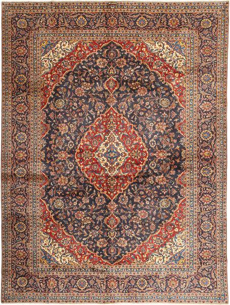 Keshan Matto 297X395 Itämainen Käsinsolmittu Tummanpunainen/Tummansininen Isot (Villa, Persia/Iran)