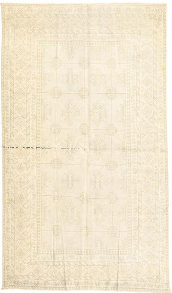 Vintage Matto 130X227 Moderni Käsinsolmittu Beige/Valkoinen/Creme (Villa, Persia/Iran)