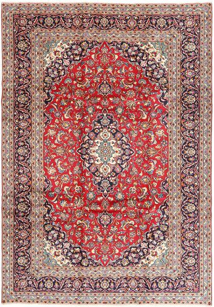 Keshan Matto 240X350 Itämainen Käsinsolmittu Tummanpunainen/Beige (Villa, Persia/Iran)