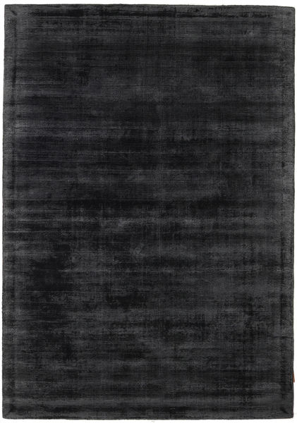 Tribeca - Charcoal Matto 140X200 Moderni Musta/Tummanharmaa ( Intia)