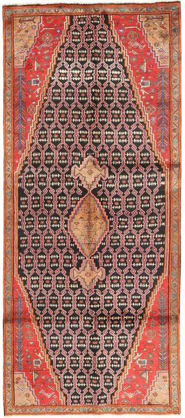 Koliai Matto 127X310 Itämainen Käsinsolmittu Käytävämatto Ruoste/Ruskea (Villa, Persia/Iran)