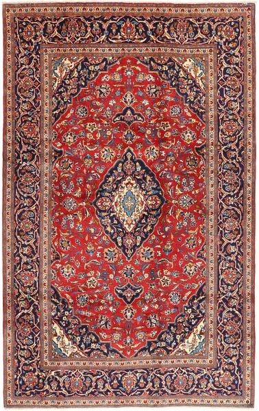 Keshan Matto 197X312 Itämainen Käsinsolmittu Tummanpunainen/Tummanruskea (Villa, Persia/Iran)
