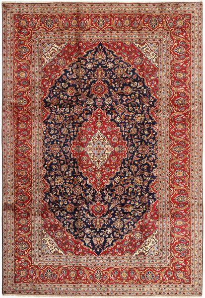Keshan Matto 240X355 Itämainen Käsinsolmittu Tummanpunainen/Tummanruskea (Villa, Persia/Iran)