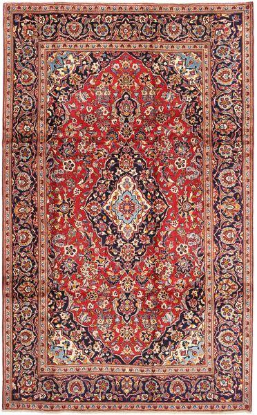 Keshan Matto 195X325 Itämainen Käsinsolmittu Tummanpunainen/Vaaleanruskea (Villa, Persia/Iran)