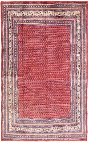 Sarough Mir Matto 210X330 Itämainen Käsinsolmittu Pinkki/Vaaleanvioletti (Villa, Persia/Iran)
