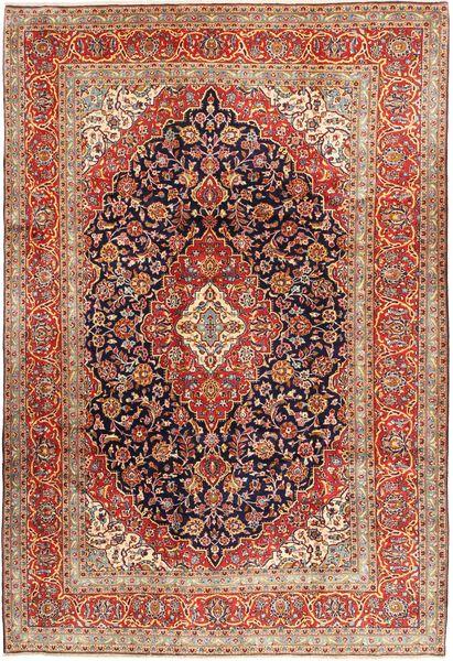 Keshan Matto 244X357 Itämainen Käsinsolmittu Tummanruskea/Ruskea (Villa, Persia/Iran)