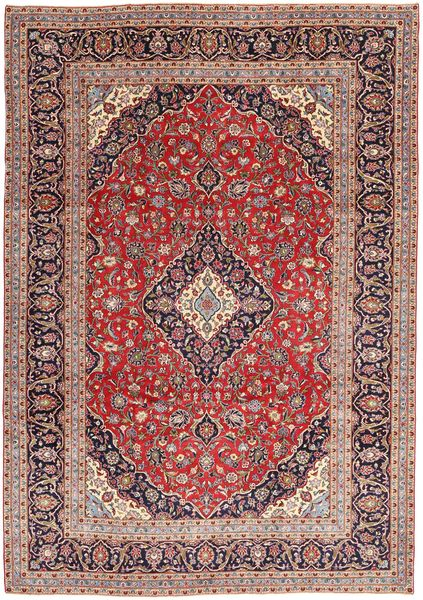 Keshan Patina Matto 237X337 Itämainen Käsinsolmittu Tummanpunainen/Ruskea (Villa, Persia/Iran)